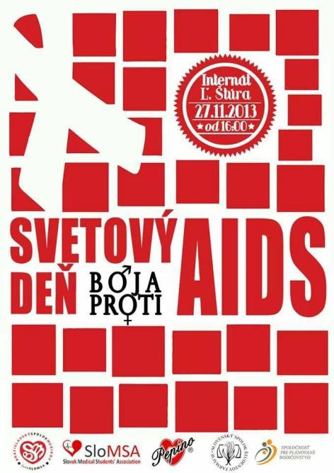 Svetový deň boja proti AIDS 2013